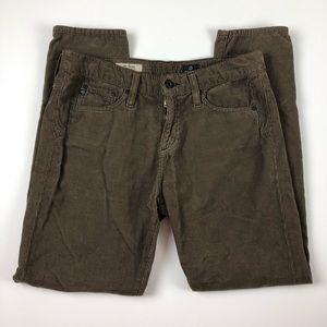 AG Jeans cords Beau slouchy skinny 27R